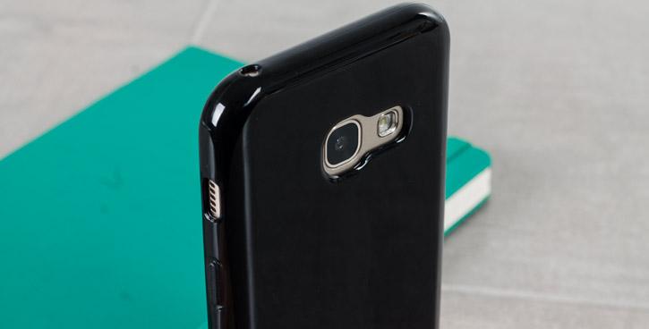 Olixar FlexiShield Samsung Galaxy A3 2017 Gel Case - Solid Black