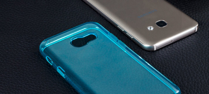 Olixar FlexiShield Samsung Galaxy A3 2017 Gel Case - Blue
