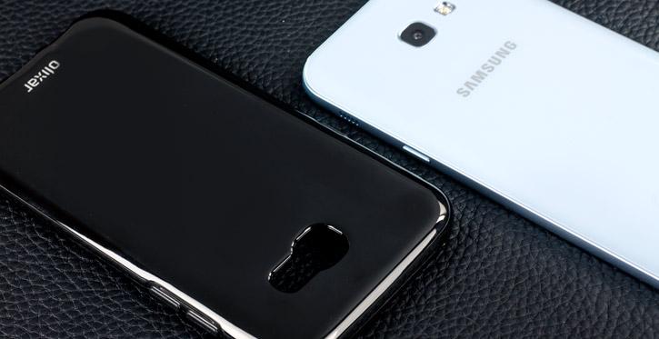 Olixar FlexiShield Samsung Galaxy A5 2017 Gel Case - Solid Black