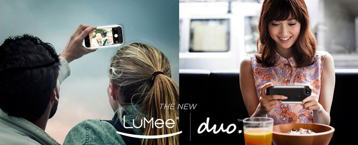 LuMee Duo iPhone 7 Plus / 6S Plus / 6 Plus Lighting Case - Black