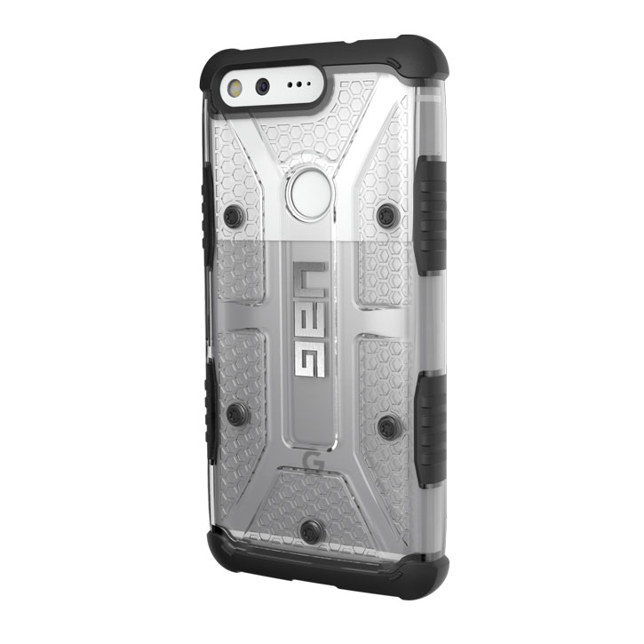 UAG Plasma Googel Pixel XL Protective Case - Ice / Black