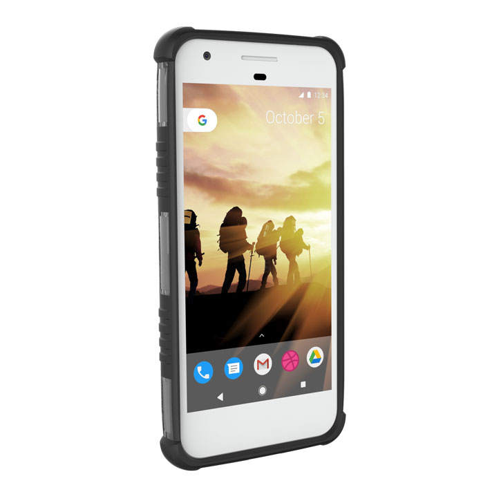 UAG Plasma Googel Pixel Protective Case - Ice / Black