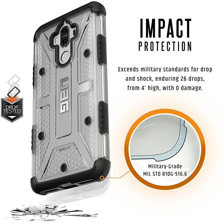 UAG Plasma Huawei Mate 9 Protective Skal - Glaciär / Svart