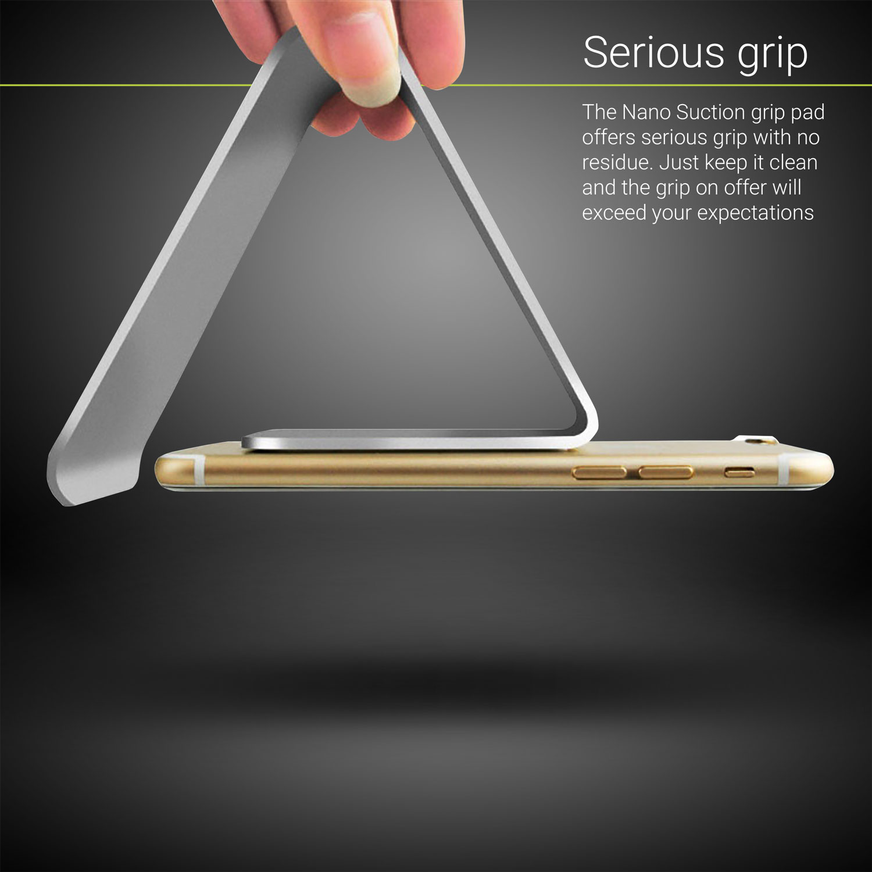 Soporte para smartphone y tableta Olixar Alpha Universal Premium Metal