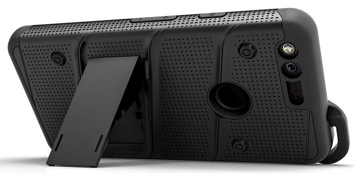 Zizo Bolt Series Google Pixel XL Tough Case & Belt Clip - Black