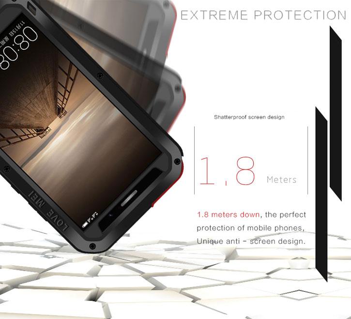 pretty nice 52e7d 0c13c Love Mei Powerful Huawei Mate 9 Protective Case - Black
