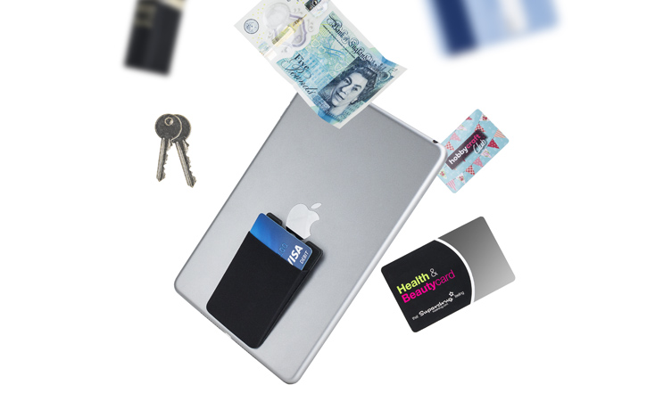Olixar FlexiPouch Stick-on Smartphone Wallet Pocket