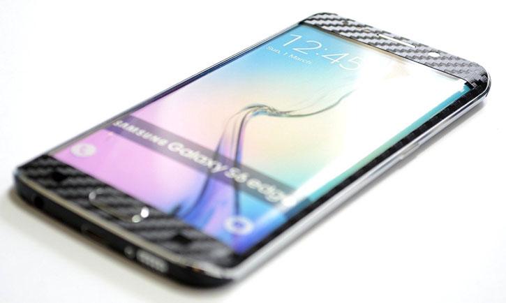 Easyskinz iPhone SE / 5S / 5 3D Textured Carbon Fibre Skin - Black
