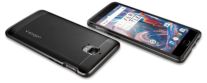 Spigen Neo Hybrid OnePlus 3T / 3 Skal - Gunmetal