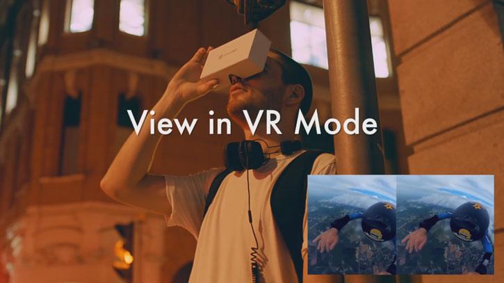 Insta360 Nano Dual Lens 360 Degree VR Camera