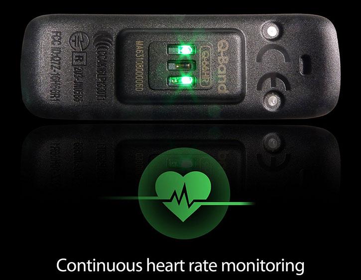 igotU QBand HR Universal Smart Fitness Band and Heart Rate Monitor