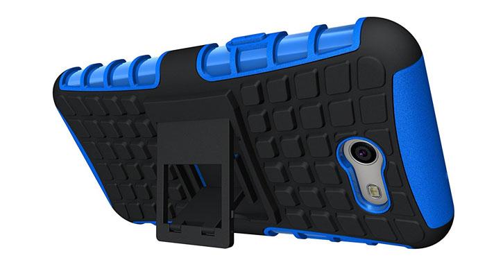 Olixar ArmourDillo Samsung Galaxy J3 2017 Protective Case - Blue