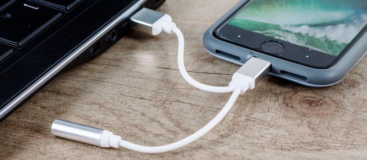 Adaptador Lightning a USB y Mini Jack 3.5mm para iPhone 7 / 7 Plus
