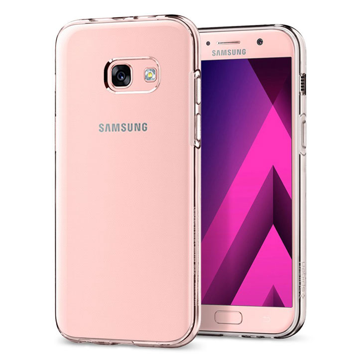 Coque Samsung Galaxy A3 2017 Spigen Liquid Crystal – Transparente