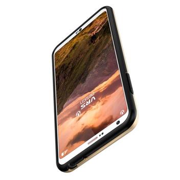 VRS Design High Pro Shield Series LG G6 Case - Dark Silver