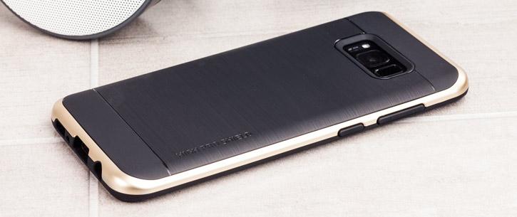 Coque Samsung Galaxy S8 VRS Design High Pro Shield – Or vue sur touches