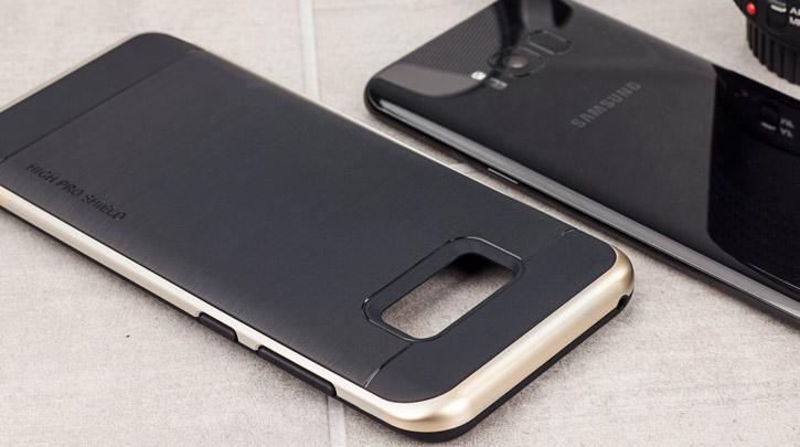Coque Samsung Galaxy S8 VRS Design High Pro Shield – Or