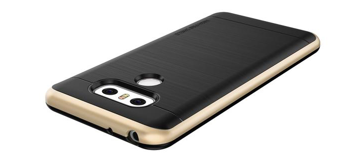 VRS Design High Pro Shield Series LG G6 Case - Shine Gold