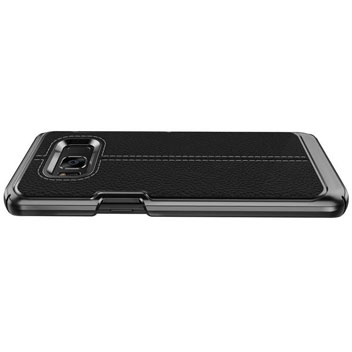 VRS Design Simpli Mod Leather-Style Samsung Galaxy S8 Plus Case -Black