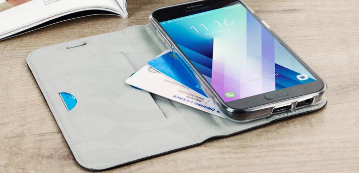 Krusell Malmo Samsung Galaxy A5 2017 Folio Case - Black