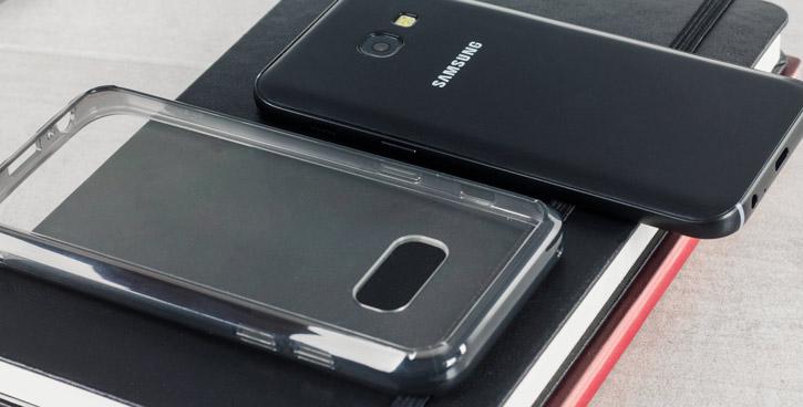 Rearth Ringke Fusion Samsung Galaxy A3 2017 Case - Smoke Black
