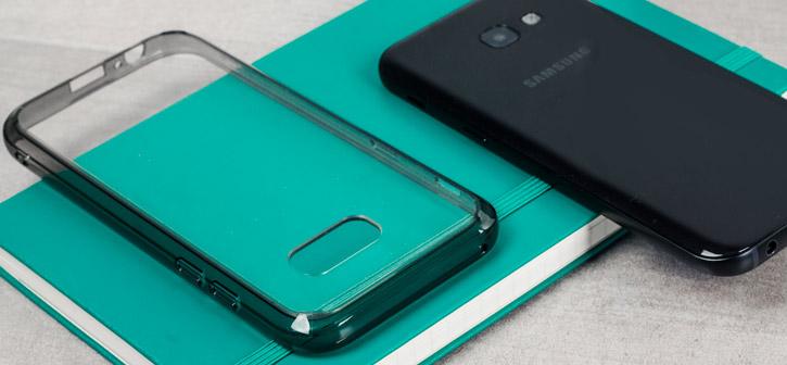 Rearth Ringke Fusion Samsung Galaxy A5 2017 Case - Smoke Black