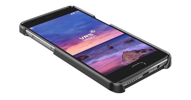 VRS Design Simpli Mod Leder-Style OnePlus 3T / 3 Tasche - Schwarz