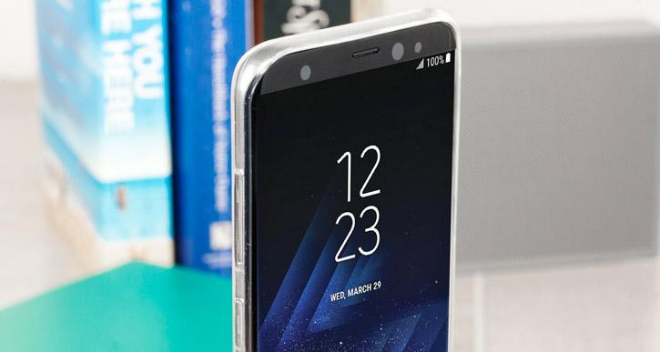 Olixar Ultra-Thin Samsung Galaxy S8 Plus Case - 100% Clear