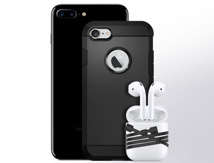 Spigen iPhone 7 / 7 Plus AirPods Strap - Black
