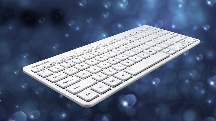 Teclado Bluetooth Oficial Samsung Universal - Blanco