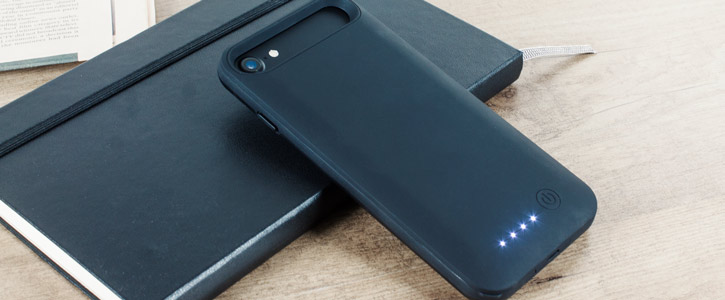 Slim Fit 3100mAh iPhone 8 / 7 Battery Case - Black