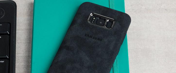 Official Samsung Galaxy S8 Alcantara Cover Case - Silver