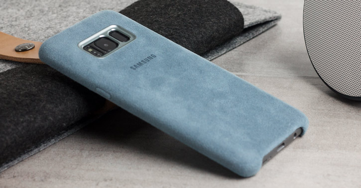 big sale 22361 62ea7 Official Samsung Galaxy S8 Plus Alcantara Cover Case - Mint