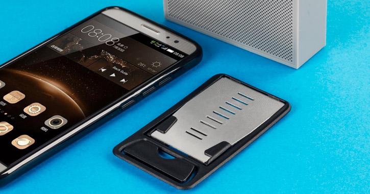 Soporte de escritorio portátil multi-ángulo para Smartphone Olixar Universal Ultra Slim