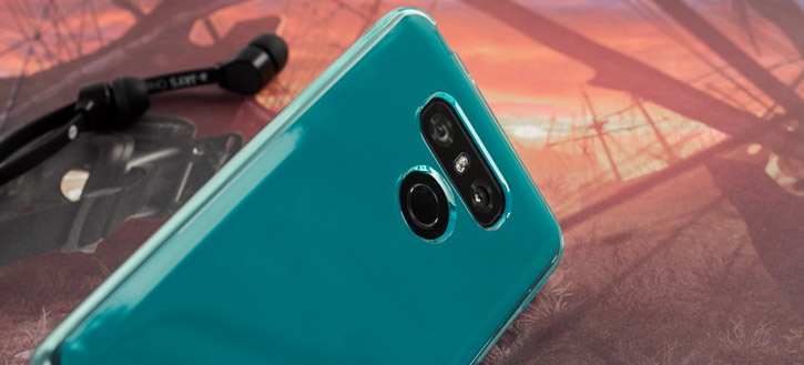 Olixar FlexiShield LG G6 Gel Case - Blue