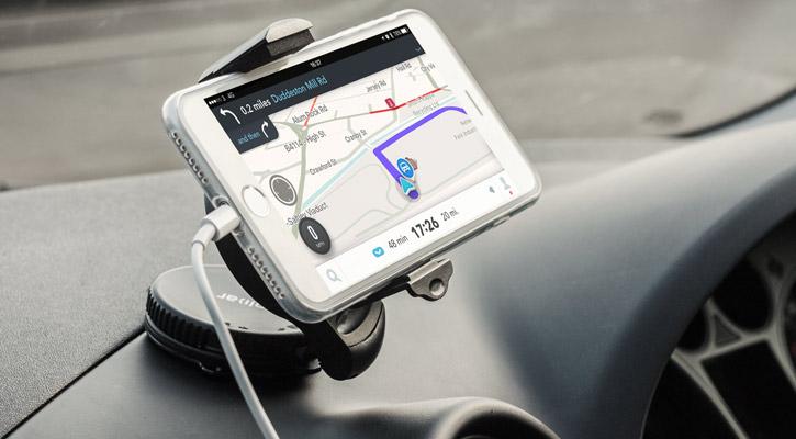 olixar drivetime iphone 7 plus car holder charger pack autonavi (aka com