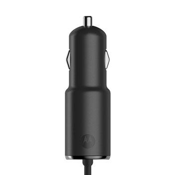Official Motorola TurboPower 25 Micro USB Car Charger w/ USB Port