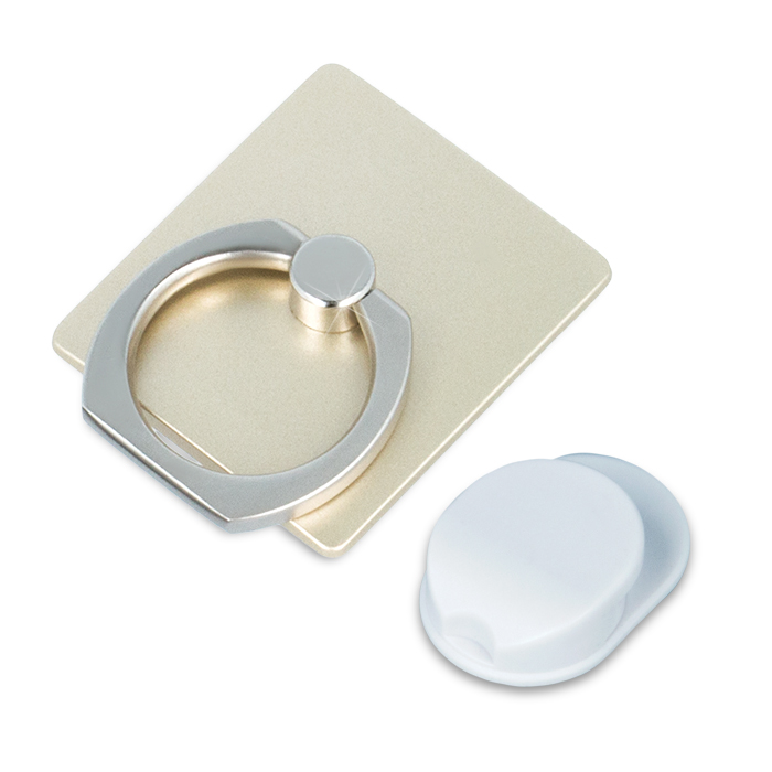 Sticky Smart-Ring Holder - Gold