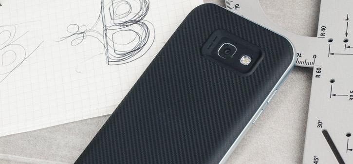 Olixar X-Duo Samsung Galaxy A5 2017 Case - Carbon Fibre Metallic Grey