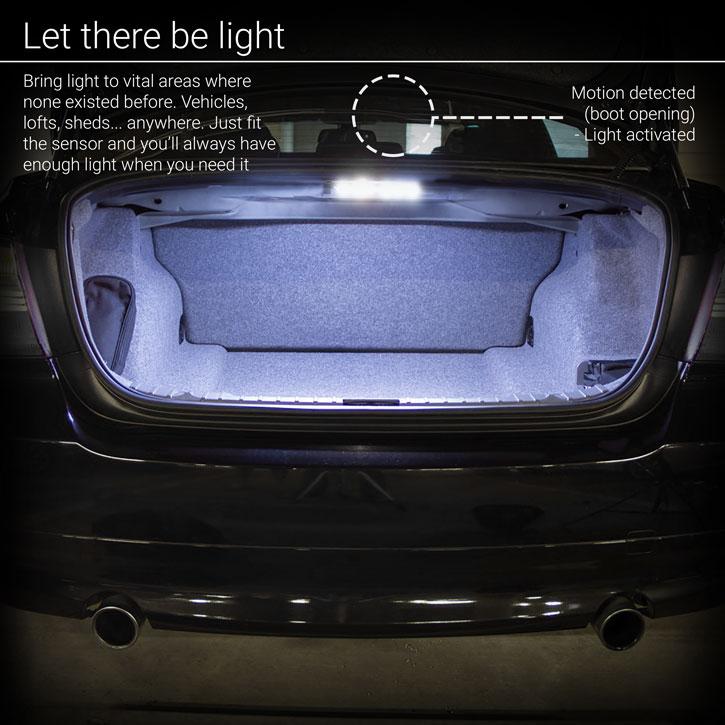 Bande à 6 LED avec détecteur de mouvement AGL