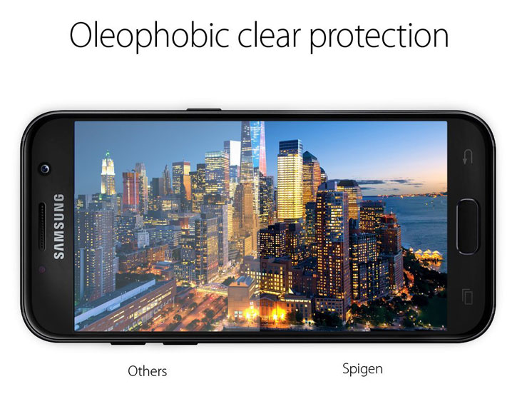 Spigen Film Crystal Samsung Galaxy A5 2017 Screen Protector - 2 Pack