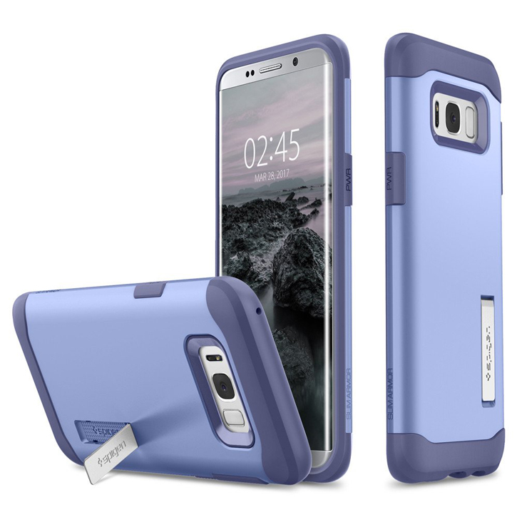 Spigen Slim Armor Samsung Galaxy S8 Tough Case - Violet