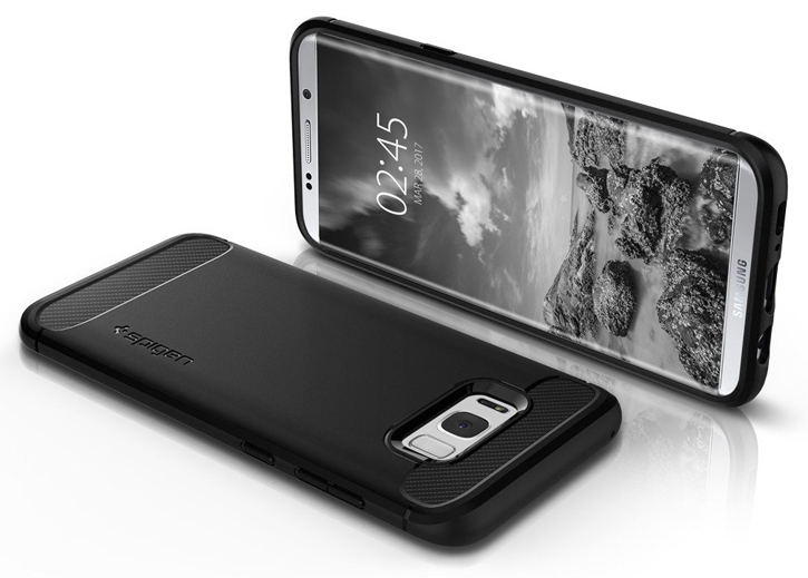 Spigen Rugged Armor Samsung Galaxy S8 Tough Case - Black