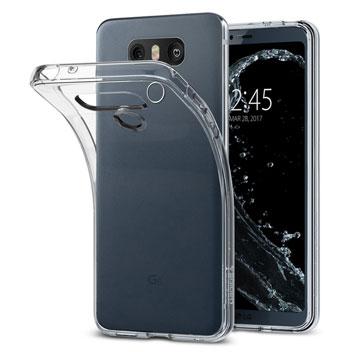 Spigen Liquid Crystal LG G6 Shell Case - Clear