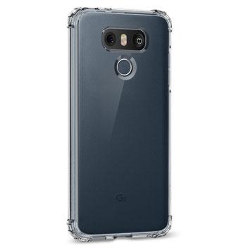 Spigen Crystal Shell LG G6 Case - 100% Clear