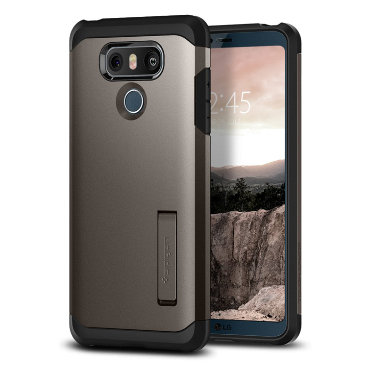 Spigen Tough Armor LG G6 Case - Gunmetal