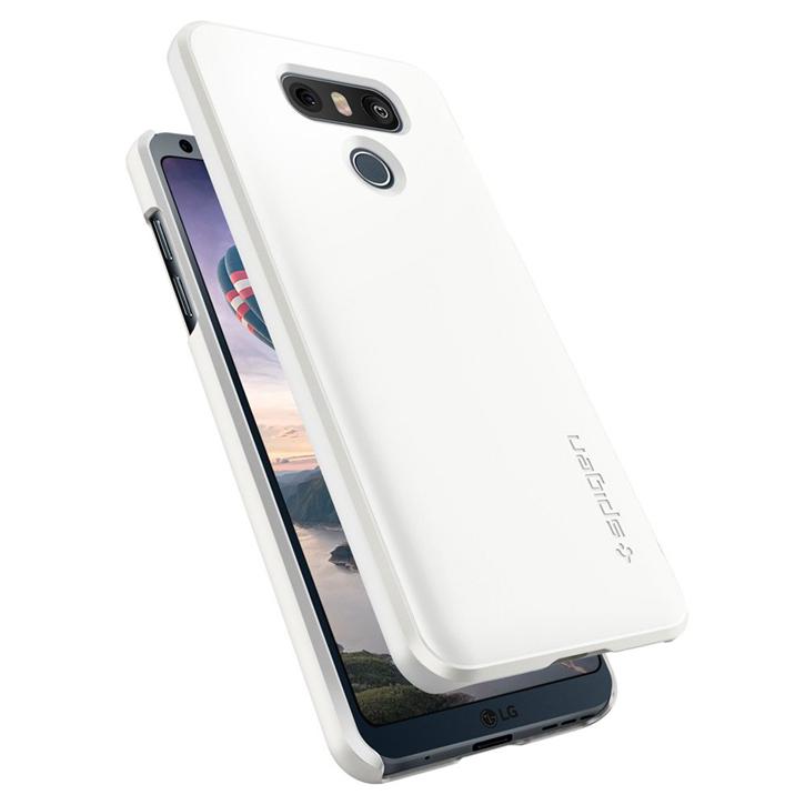 Spigen Thin Fit LG G6 Case - Shimmery White