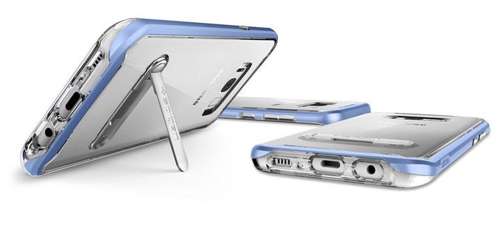 Spigen Crystal Hybrid Samsung Galaxy S8 Case - Blue Coral