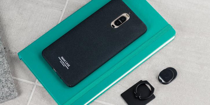 Imak Marble Huawei Mate 9 Pro Stand Case Black