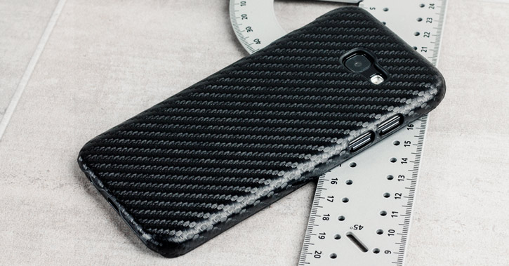 Samsung Galaxy A5 2017 Twill Pattern Case - Black